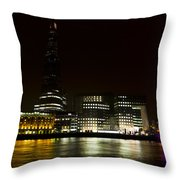South Bank London Throw Pillow