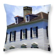 South Battery Beauty Throw Pillow