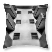 South Beach Abstract Throw Pillow