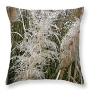 South Carolina Icicles Throw Pillow by Ella Char