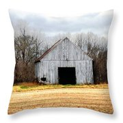 South County Barn Throw Pillow