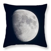 South Dakota Moon Throw Pillow