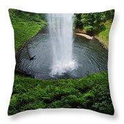 South Falls Oregon Throw Pillow