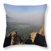South Fork Fire Throw Pillow