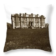 South Hall Which Housed The College Of Science University Of Cal Circa 1904 Throw Pillow