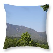 South Hancock Mountain New Hampshire Throw Pillow