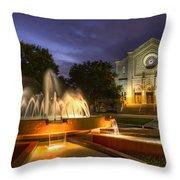 South Main Baptist Church Throw Pillow