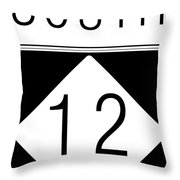 South Nc 12 Throw Pillow