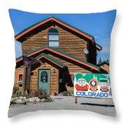 South Park House Throw Pillow