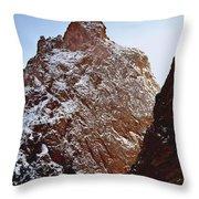 210855-south Pillar Of Hercules, Co Throw Pillow
