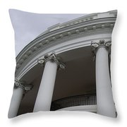 South Portico Of The White House Throw Pillow