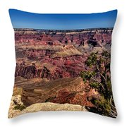 South Rim. Grand Canyon Throw Pillow