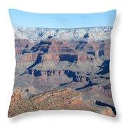 South Rim Grand Canyon National Park Throw Pillow