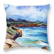 South Shore Hike Throw Pillow