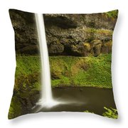 South Silver Falls 3 Throw Pillow