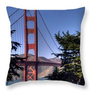 South Tower Throw Pillow