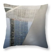 South Tower Reflections Throw Pillow