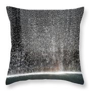 South Tower Water Throw Pillow