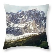 South Tyrol Throw Pillow