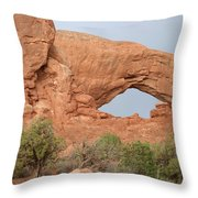 South Window Arches National Park Throw Pillow