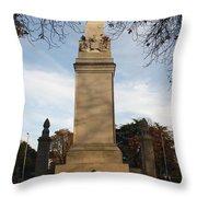 Southampton Cenotaph Hampshire Throw Pillow