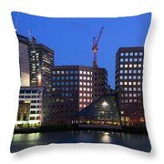 Southbank In London. Throw Pillow
