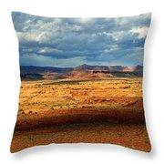 Southeastern Utah Desert Panoramic Throw Pillow