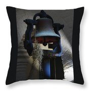 Charleston Sc Southern Bell  Throw Pillow by Ella Char