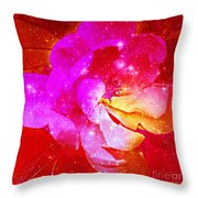 Southern Belle / Hot Pink Magnolia  Throw Pillow