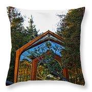 Southern California's Wafarers Chapel 3 Throw Pillow
