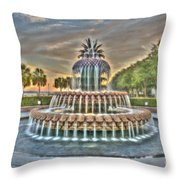 Southern Charm Pineapple Throw Pillow