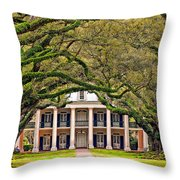 Southern Class Throw Pillow by Steve Harrington