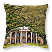 Southern Class Throw Pillow