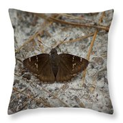 Southern Cloudywing Throw Pillow
