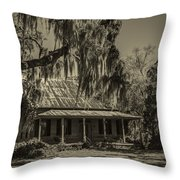 Southern Comfort Antique Throw Pillow by Debra and Dave Vanderlaan