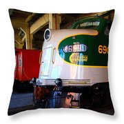 Southern Crescent And Company Throw Pillow