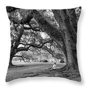 Southern Dreamer Bw Throw Pillow