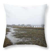 Southern Ebb And Flow Throw Pillow
