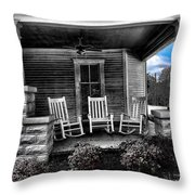 Southern Front Porch 1 Throw Pillow