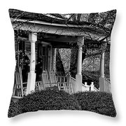 Southern Front Porch 4 Throw Pillow