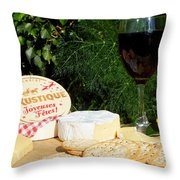 Southern Hemisphere Christmas Lunch Throw Pillow