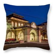 Southern Hotel Charm Throw Pillow