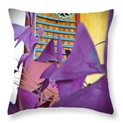 Southern Luck Throw Pillow