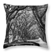 Southern Muscle Throw Pillow