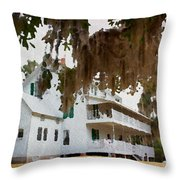 Southern Quiet Throw Pillow