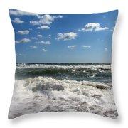 Southern Shores Splash Throw Pillow