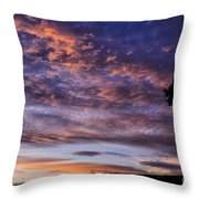 Southern Sky Sunrise Throw Pillow