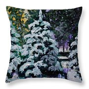 Southern Surprise Throw Pillow by Vickie Warner