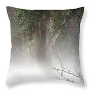 Southern Trees Have Curves Throw Pillow