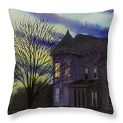 Southern Victorian Throw Pillow